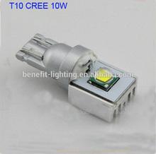 CANBUS CREE T10 LED high power auto led light bulb