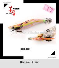MOKE New Opera design wholesale Japan Squid jig fishing lures for 2014