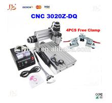 LY CNC Engraving Cutting Machine 3020Z-DQ + 4 PCS Free cnc clamp