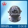 10 inch stainless steel JIS 10k RF flange foot valve price