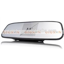 Complete Car Reversing Kit - Rearview Camera + Parking Sensor + Rearview Mirror