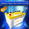 12V 80AH Dry Charged Lead Acid Car Automotive Battery 58024 JIS