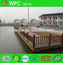 Wpc terrasse extérieure modèles en bois clôtures