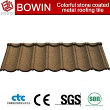 low price metal roofing tile /iron roofing sheet /sun stone shingle