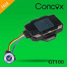 Concox GT100 Hight senstive GPS chipset global smart gps motorcycle tracker