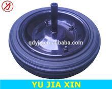 13 inch heavy duty solid rubber wheels