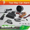 dos coches manera de alarma de que las llamadas de teléfono de la célula capturadores de código de alarma del coche accesorios del coche con dos lcd de control remoto