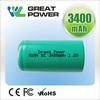 high capacity 3300mah nimh sc 1.2v rechargeable battery