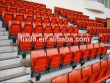 VIP plastic grandstand stadium chairs / stadium seating