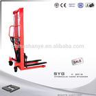 2000kg Hydraulic Hand Stacker hydraulic battery powered pallet jack