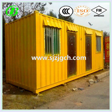 economic modern mobile 20 feet container house hotel with iso 9001 certificate