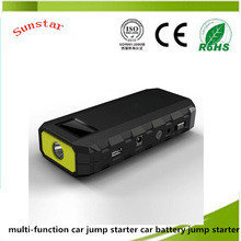 With CE/RoHS 7800mhA multi-function auto emergency start power jump starter
