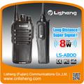 اليدوية نوع 8w ls-a800 عالية ouput السلطة لاسلكية مشفرة الاتصالات