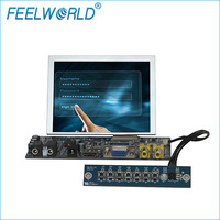 5 inch small digital display screen with 4 Wire resistive touch screen for industrial application