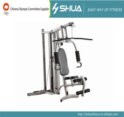 Home gym equipment exercise station