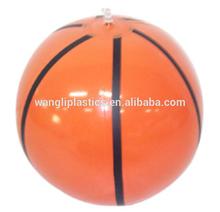 New design basketball beach ball inflatable children beach ball