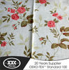 High quality popular modern fashion flower wholesale print drape 2015