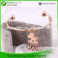 nuovo stile caldo gioielli modain vendita 2014 macramè braccialetto
