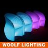 Living room Decoration LED Plastic Illuminated Armchair