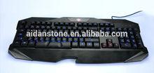 High Quality Multimedia Wired Keyboard LED Backlit