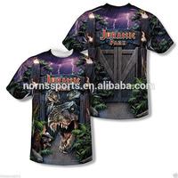Hot Custom Printing Nylon Spandex Sublimation T-Shirt