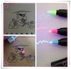 body marker ,magic marker, UV marker invisible ink marker ,three color for choose