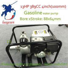 13HP 389CC 4inch(100mm) gasoline water pump