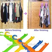 wholesale multi-use magic Multifunctional flod magic clothes hanger