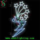 2014 new design 2D led decoration pole motif light
