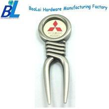 Branded logo golf divot tool gifts for club members