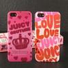 2014 new design juicy slogan mobile phone case popular case for iphone5