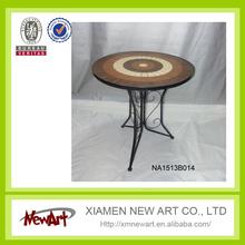 China alibaba garden furniture set italy patio folded table wholesale new design mosaic table