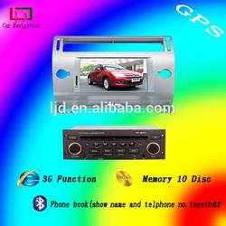 can bus citroen c4 car dvd gps navigation tv bt ( 4 Corlors black,silver,silver grey,brown)