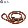 Various size leather wholesale pet dog slip leads