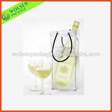 China Wholesale PVC bag/ Clear wine cooler plastic bag/PVC wine bag