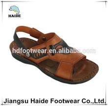 New models pu sandal slipper men footwear manufacturer