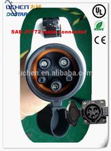 sae j1772 EV connector electric car charger hybrid vehicle charger UL certification V3-DSS-EVP