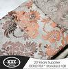 2014 newest popoular blackout jacquard fabric curtains