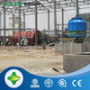 Save water and electricity tire and plastic oil refining machine