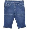 5247-f1 lote pantalones vaqueros bolsillo trasero diseños de bordado más el tamaño de los pantalones vaqueros