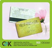 HOT!!! offset printing pvc membership / signature /magnetic card