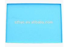 Eco-friendly high quality anti-slip non stick silicone pet dog pads