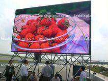 Energy saving full color HD LED tela de exibição de vídeo ao ar livre equipamentos de musculação