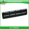 UL Listed Cheap Price 48 Port 1U Krone Patch Panel Shenzhen Factory