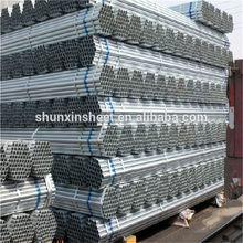 Prepainted galvanized round steel tubes/Metal building material