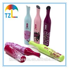 New Inventions Custom Umbrella ,Wine Bottle Umbrella for Gift