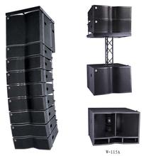 line arrays, speaker enclosures, Pro audio(W-28A&W-115A)