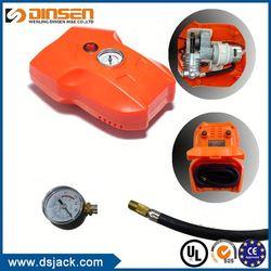 TOP QUALITY!! Factory Sale dc12v car air compressor air pump tire inflator with led light