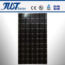 210-260W mono solar panel, solar system,making a solar panel