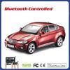 rc car toy kid car 1 14 Android control Bluetooth car BMW X6 car export